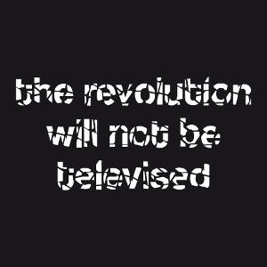 Revolution, citation du poète et musicien Gil Scott-Heron personnalisée.