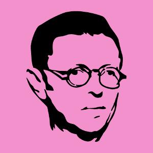 Imprimez un t-shirt Sartre original en ligne.