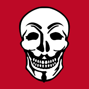 Cadeau Mix du masque Anonymous et d'une tête de mort à personnaliser soi-même.