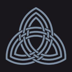 Symbole du marteau de Thor, design geek et mythologiie Viking une couleur personnalisable.