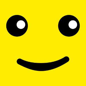 Smiley lego, yeux de bonhomme lego à personnaliser.
