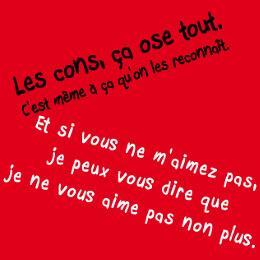 Citations d'auteurs et phrases cultes, designs pour impression sur t-shirt.