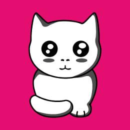 Chats et chatons stylisés à imprimer sur t-shirt, tasse, cadeau etc.