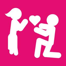 Designs couple, vie à deux et amour à personnaliser.