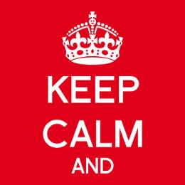 Créez votre t-shirt keep calm vous-même.