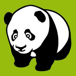 Pandas mignons, pandas kawaii, designs dessinés en format vectoriel à personnaliser et imprimer sur t-shirt, tasse, sac etc. avec le designer Spreadsh