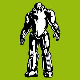Robots personnalisables, imprimer un t-shirt robotique et sci fi en ligne.