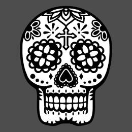 Têtes de mort à imprimer en ligne. Personnalisez votre t-shirt pirate.