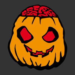 Motifs Halloween, citrouilles et monstres à imprimer sur t-shirt.