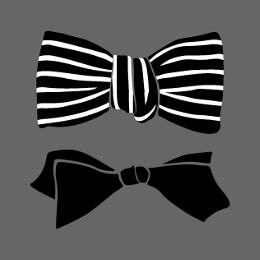 Faux nœuds papillons spéciaux impression t-shirt.