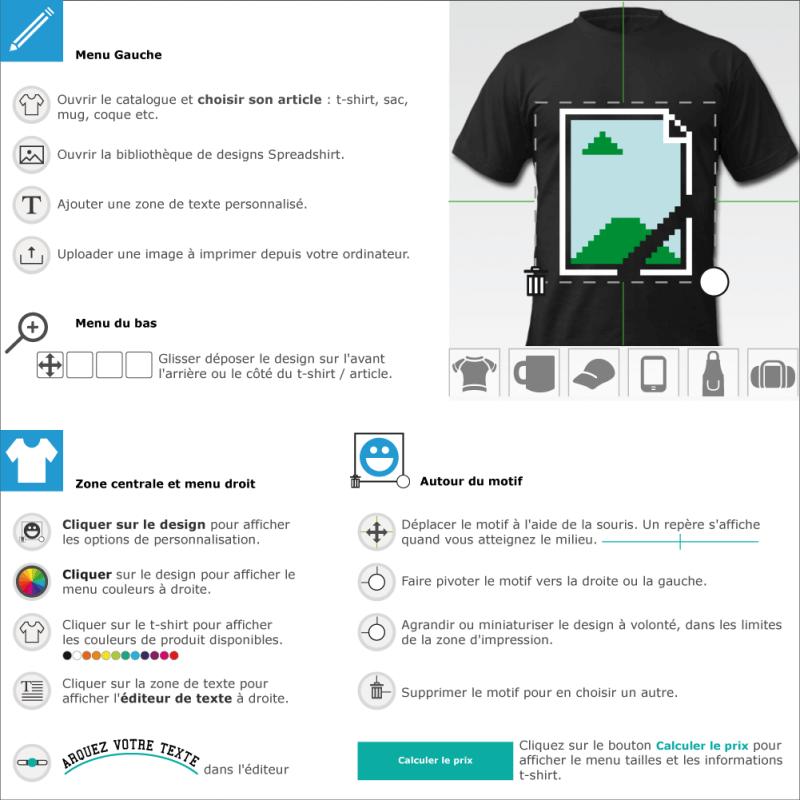 Tee shirts image 404 customisé