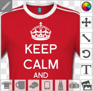 Cadeau Keep calm à personnaliser soi-même.
