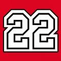 Numéro 22 à imprimer, un design Bretagne et Côtes d'Armor.