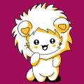 T-shirt chaton kawaii à crinière de lion, chat rigolo à capuche à personnaliser soi-même.