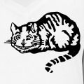 Chat du cheshire vectoriel spécial impression t-shirt.