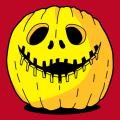 T-shirt citrouille à personnaliser et créer en ligne pour Halloween.