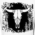 Crâne de vache à personnaliser, un design Western et USA