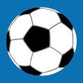 Design Football, ballon trois couleurs personnalisable à imprime sur t-shirt.