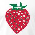 Pictogramme coloré de fraise à imprimer en ligne/