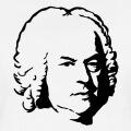 Bach, portrait personnalisable du compositeur.