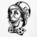 Chapelier fou mixé avec une troll face, design meme et internet personnalisé une couleur.