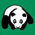 Bébé panda stylisé en style kawaii à personnalsier en ligne