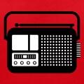 Pictogramme de radio classique.