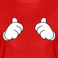 Thumbs up, gants de Mickey pouce levé.