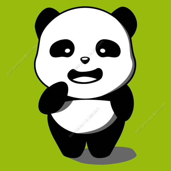 T Shirt Panda Kawaii Rigolo Personnaliser Un T Shirt Panda