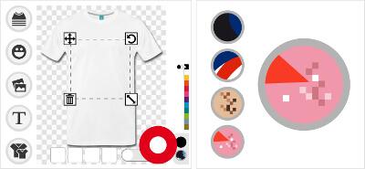 Imprimez un t-shirt original phosphorescent ou réfléchissant la lumière.