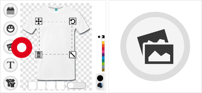 Imprimer un t-shirt avec une image personnelle en ligne.