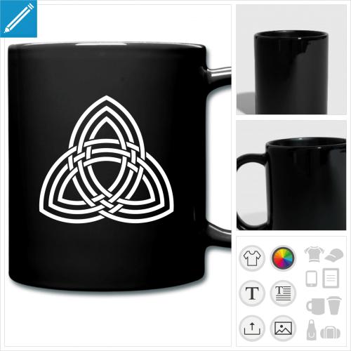 tasse couleur geek à personnaliser, impression unique