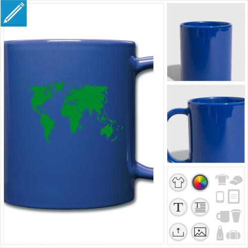 mug couleur terre à créer en ligne