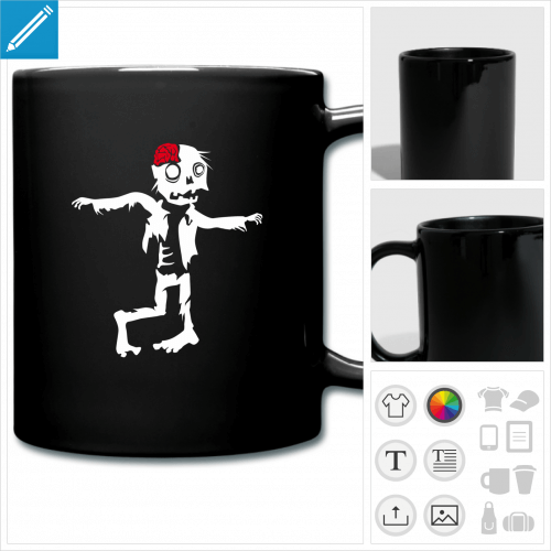 tasse Halloween à créer soi-même