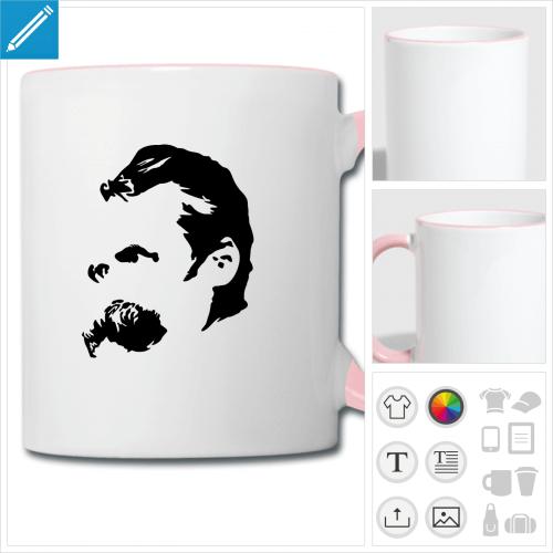 tasse Nietzsche à personnaliser