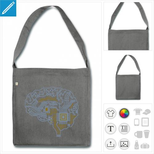 sac circuit imprimé à créer en ligne