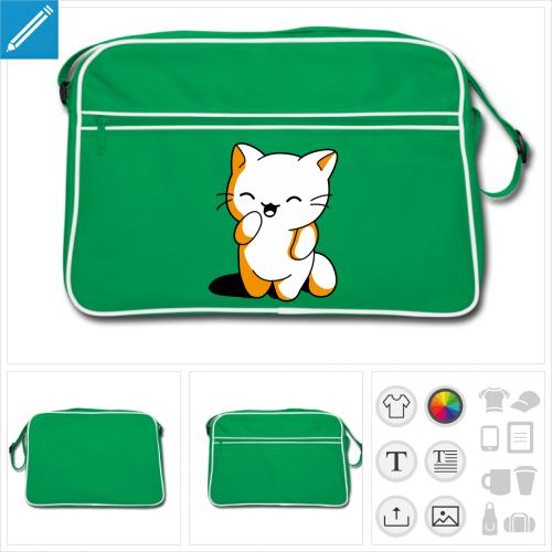 sac vintage chaton à créer en ligne