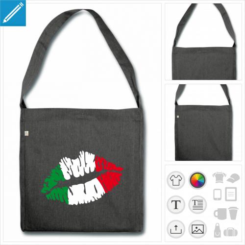 sac à bandoulière italien à créer en ligne