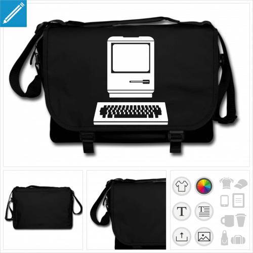 sac de cours ordinateur à créer soi-même