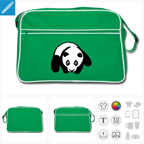 sac vintage panda à créer en ligne