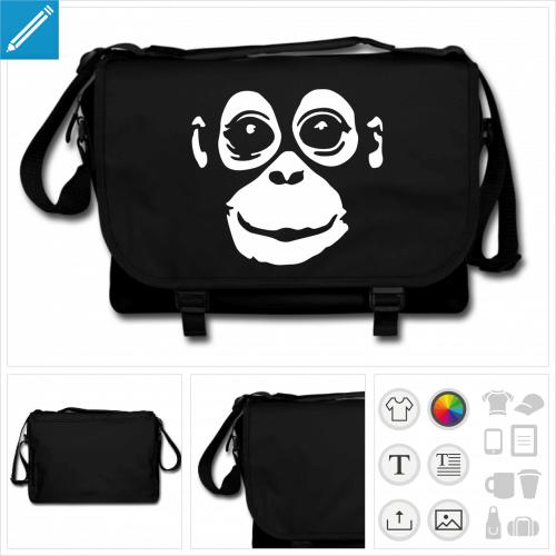 sac noir singe à créer soi-même