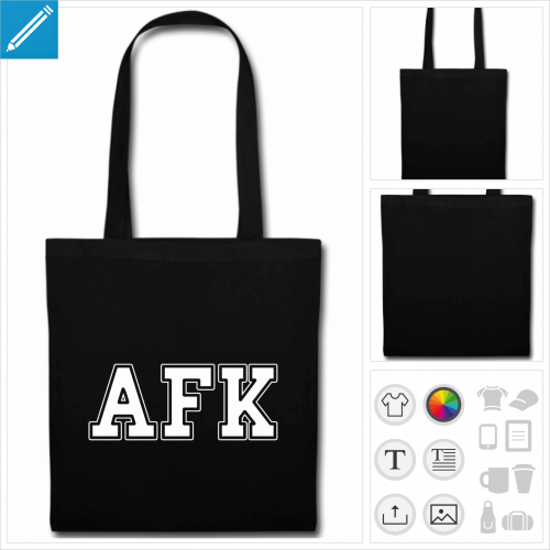 sac anses afk personnalisable