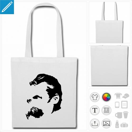 sac tissu anses Nietzsche à créer soi-même