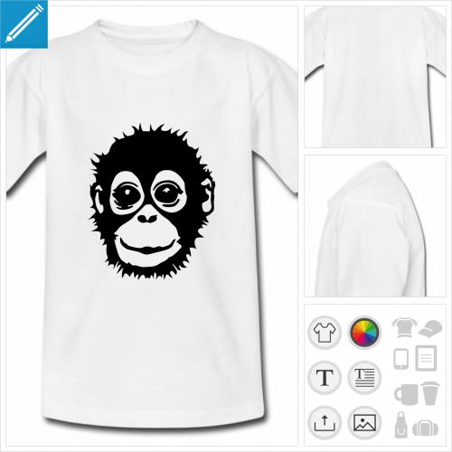 t-shirt singe à personnaliser en ligne