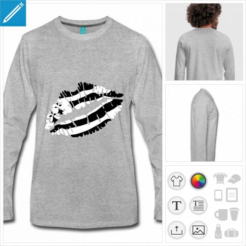 t-shirt bzh à créer en ligne