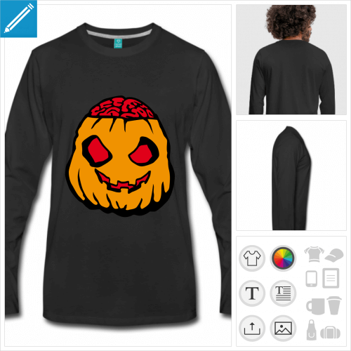 t-shirt halloween personnalisable