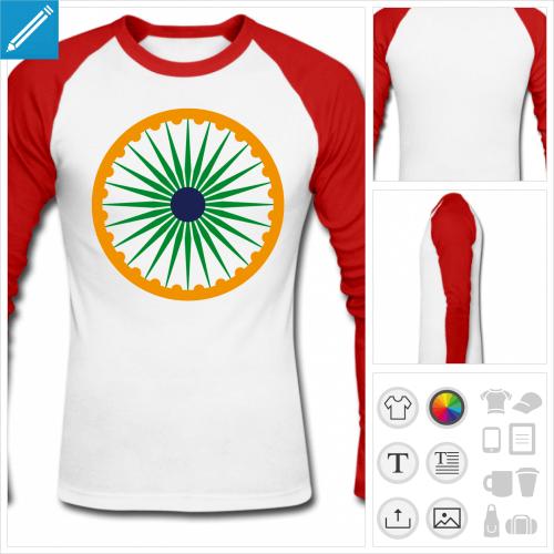 t-shirt charkha à imprimer en ligne