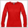 T-shirt manches longues pour femme personnalisable.