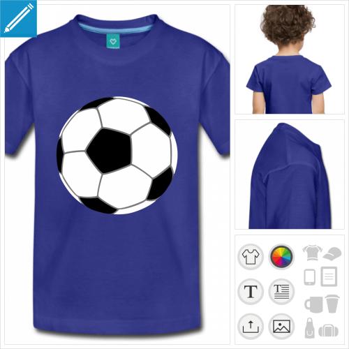 t-shirt simple ballon à créer en ligne