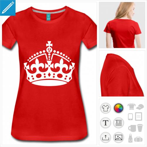 t-shirt keep calm à compléter personnalisable